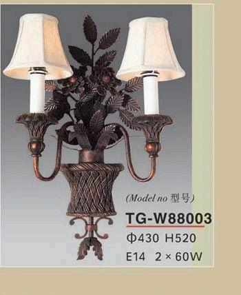 二头欧式古典风格壁灯