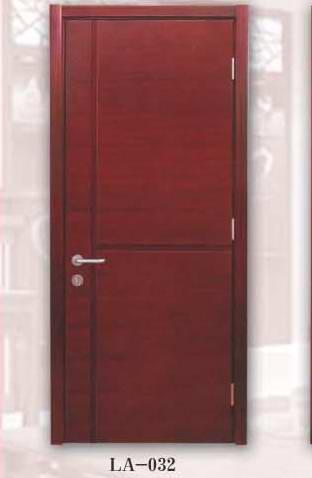 LA-032平板镂槽木门系列