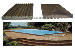 竹灵地板 经典传统竹地板