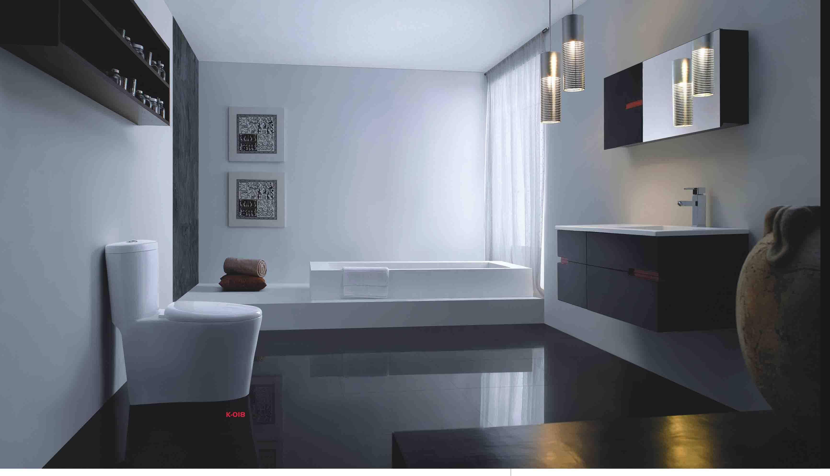 整体卫浴效果图