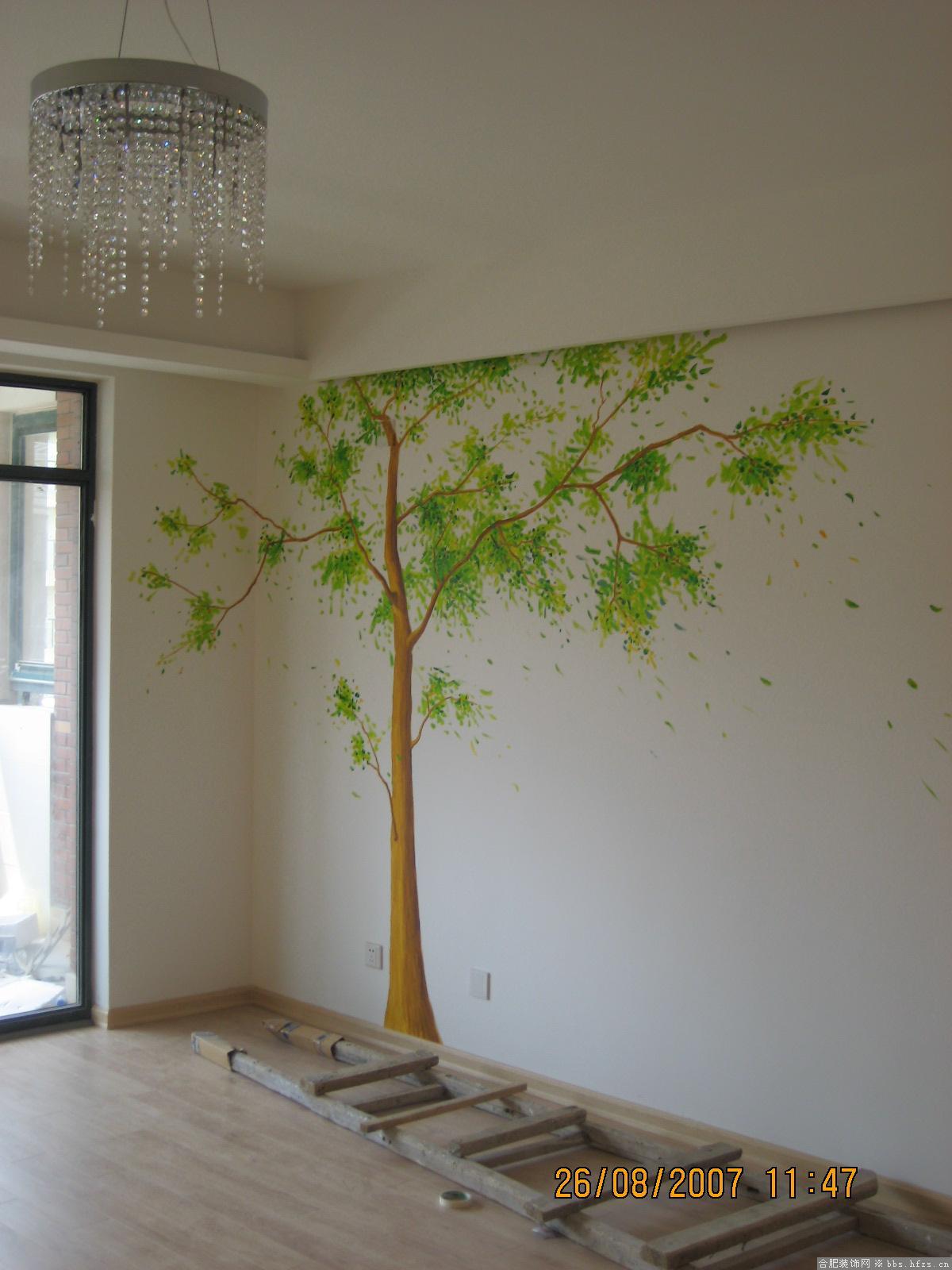 手绘墙画040,沈阳画欣手绘墙画专业团队_手绘墙画
