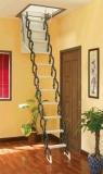 小阁楼伸缩楼梯 北京阁楼楼梯多少钱 上海折叠阁楼楼梯