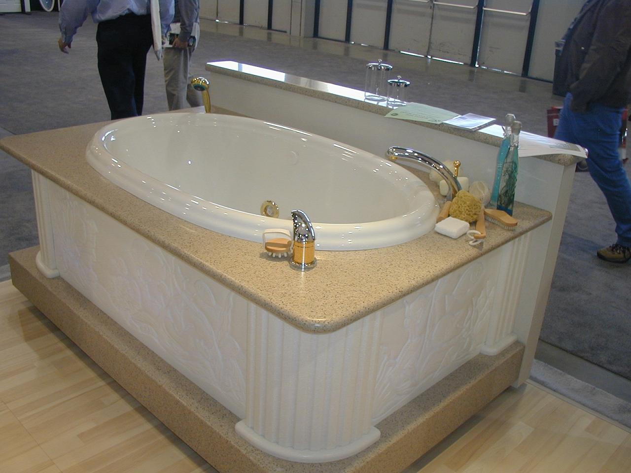 人造石浴缸台面