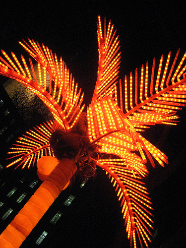 led椰树,led棕榈树,led樱花树,led竹子
