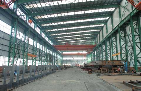 安装多种钢结构