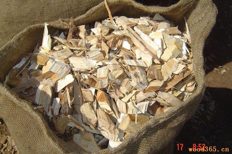 柞、杂木木片
