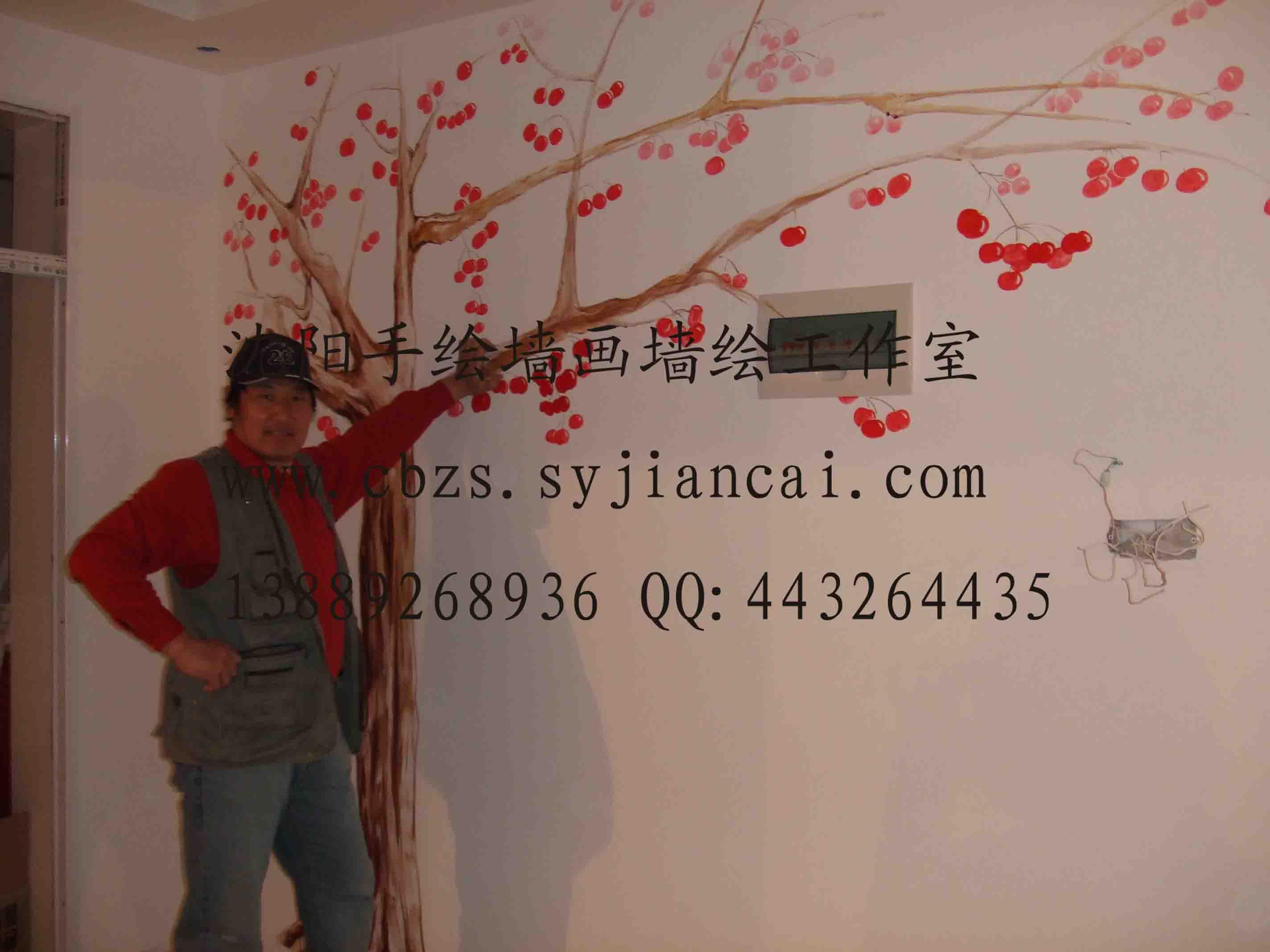 丹东手绘墙画-69