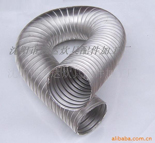 沈阳螺旋通风管 铝合金波纹管