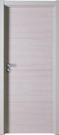 灰色木门装修效果图