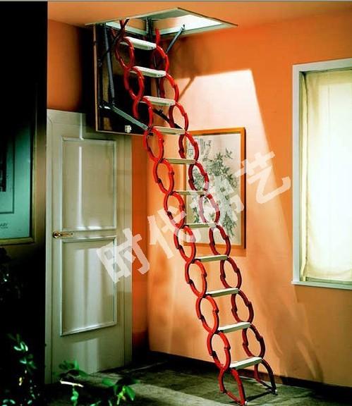 阁楼伸缩楼梯 楼梯踏步 楼梯价格 伸缩楼梯专卖