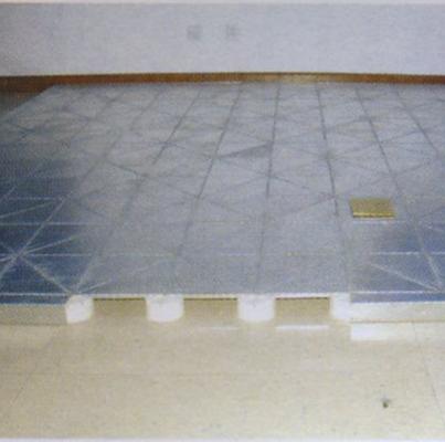 卡扣型网络地板