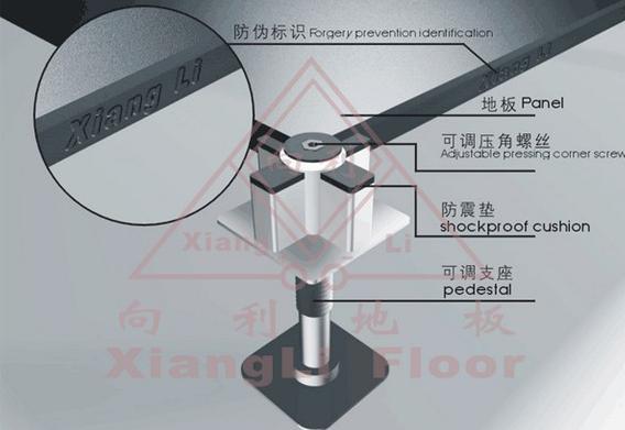 表面可调式压角型专利OA地板