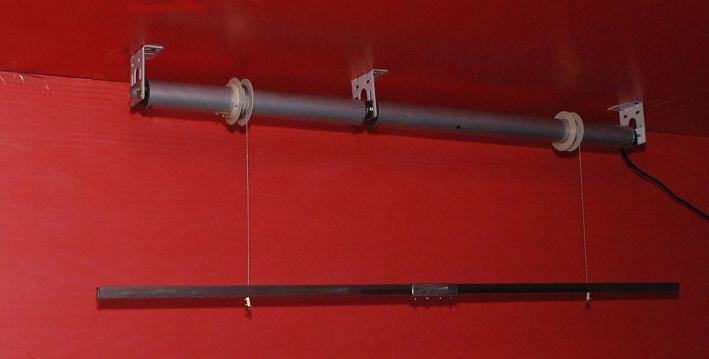 电动窗帘电动升降条幅会标