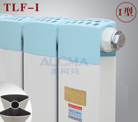 铜铝复合I型散热器
