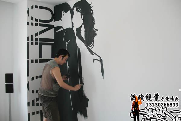 沈阳手绘墙画|沈阳墙绘|沈阳洪斌视觉艺术坊