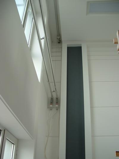 别墅跃层超高窗电动窗帘