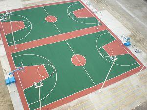 排球场效果图 排球场标准尺寸图 排球场平面图 高清图片