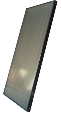 全铜黑铬平板集热器