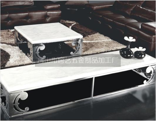 不锈钢家具加工、不锈钢家具脚架加工