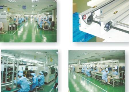 插件流水线:苏州互强设计制造的pcb线路板插接流水线,具有结构
