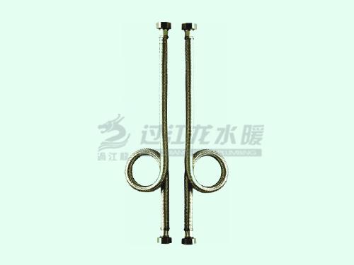 白城洁具,软管品牌,过江龙304不锈钢编织软管