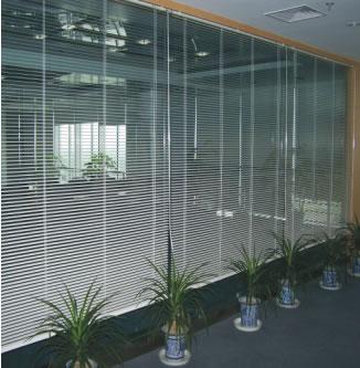 2009年11月,沈阳于洪鞋业园办公楼横百叶工程