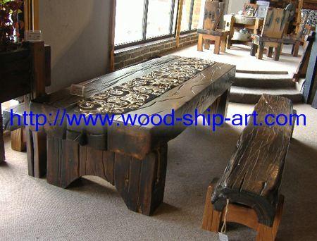 江门市品尚轩古船木艺术家具厂 商品类型: 家具 商品价格:  元 品牌