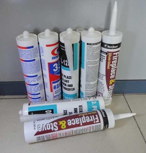 耐高温密封胶、高温胶、耐高温玻璃胶