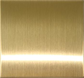 供应香槟金拉丝彩色不锈钢橱柜板