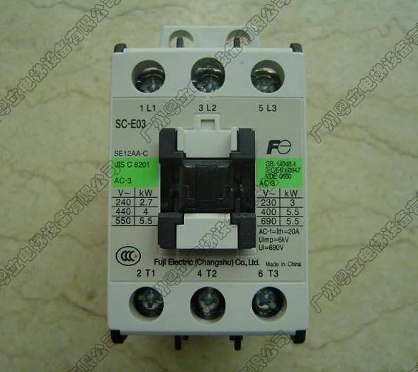 富士接触器(SC-E03)