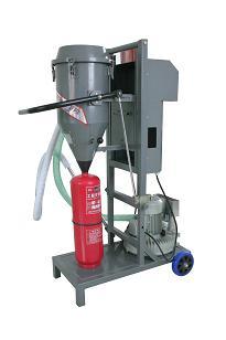 半自动灭火器干粉灌装机