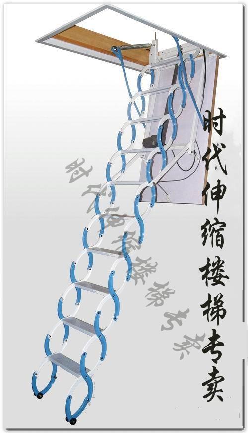 阁楼楼梯装修效果图-电动阁楼楼梯价格