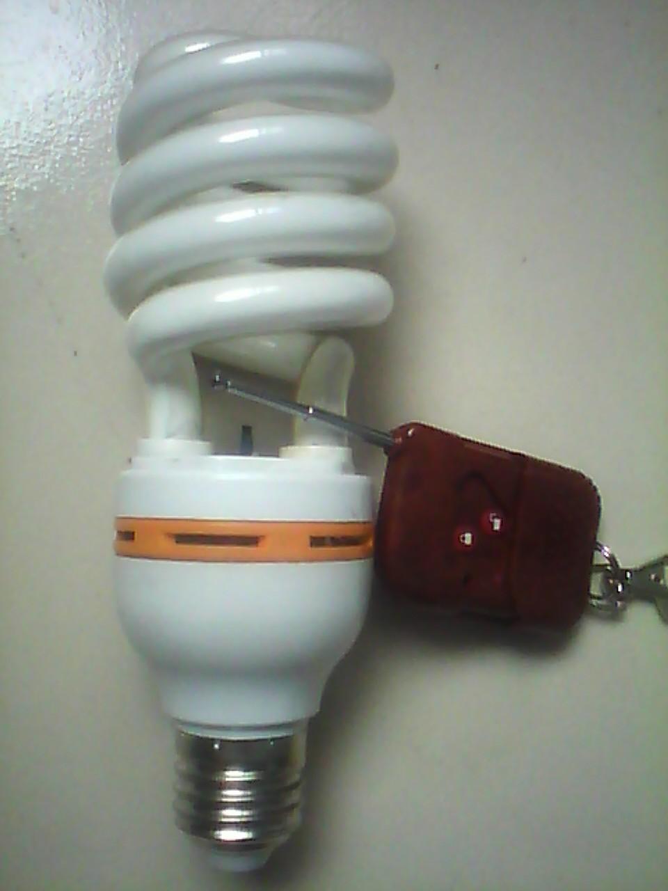有遥控器的负离子节能灯