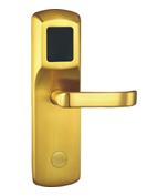 纯铜面板酒店锁/宾馆锁/电子锁/感应锁