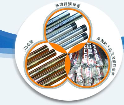 中建控JDG热镀锌电线钢导管