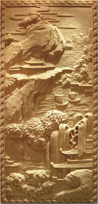 砂岩浮雕-F001