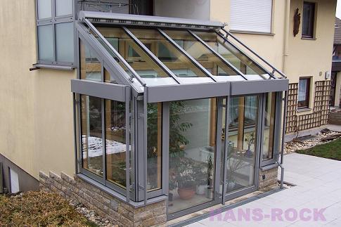 庭院铝木阳光房 德国汉斯诺克门窗&阳光房