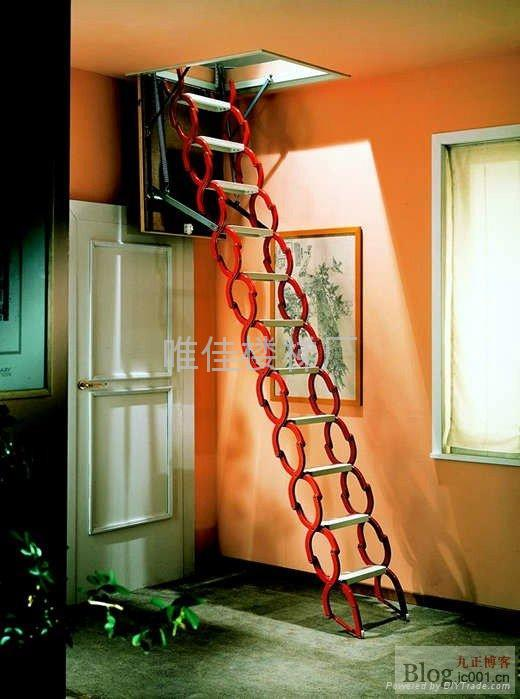 伸缩楼梯价格 阁楼伸缩楼梯价格 自动伸缩楼梯价格