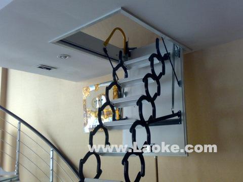 最大的阁楼楼梯厂家 上海阁楼伸缩楼梯价格
