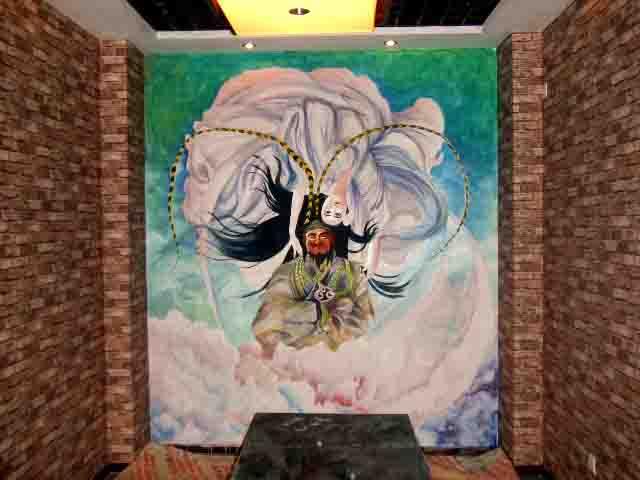 手绘墙画近期作品