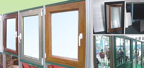 健步门窗  断桥铝窗