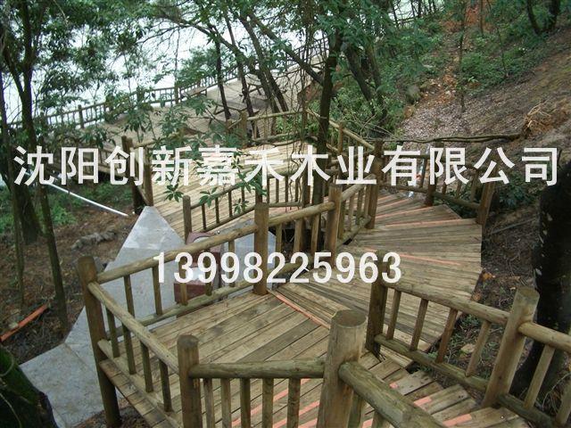 创新嘉禾防腐木围栏
