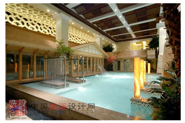 温泉泳池设计