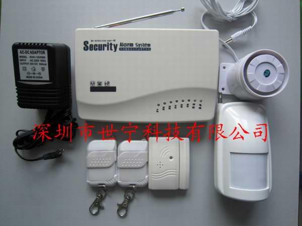 插手机卡防盗报警器 GSM报警器 家居智能防盗器