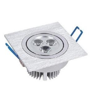 LED一体化格栅射灯