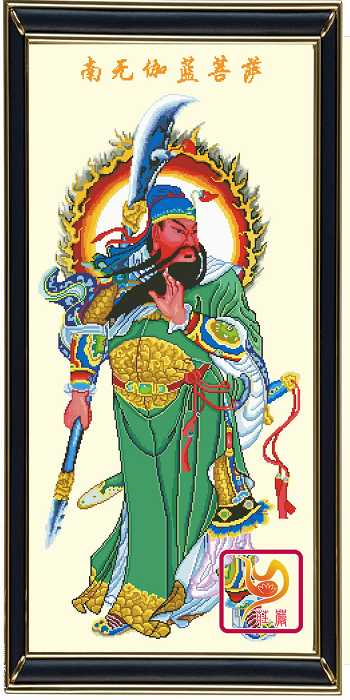 唐卡彩砂壁画653