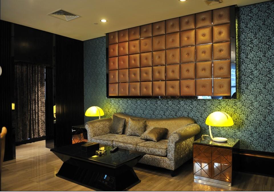 禾石-3D艺术背景墙砖-仿软包-编织板