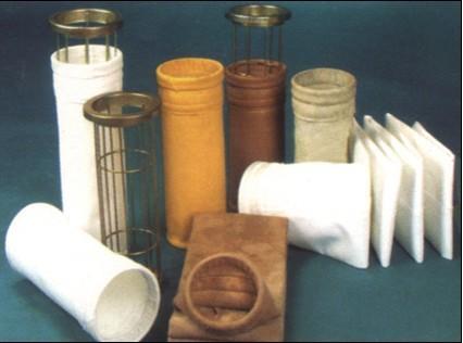 烧结厂机头高温除尘布袋,烧机机尾覆膜针刺毡收尘袋