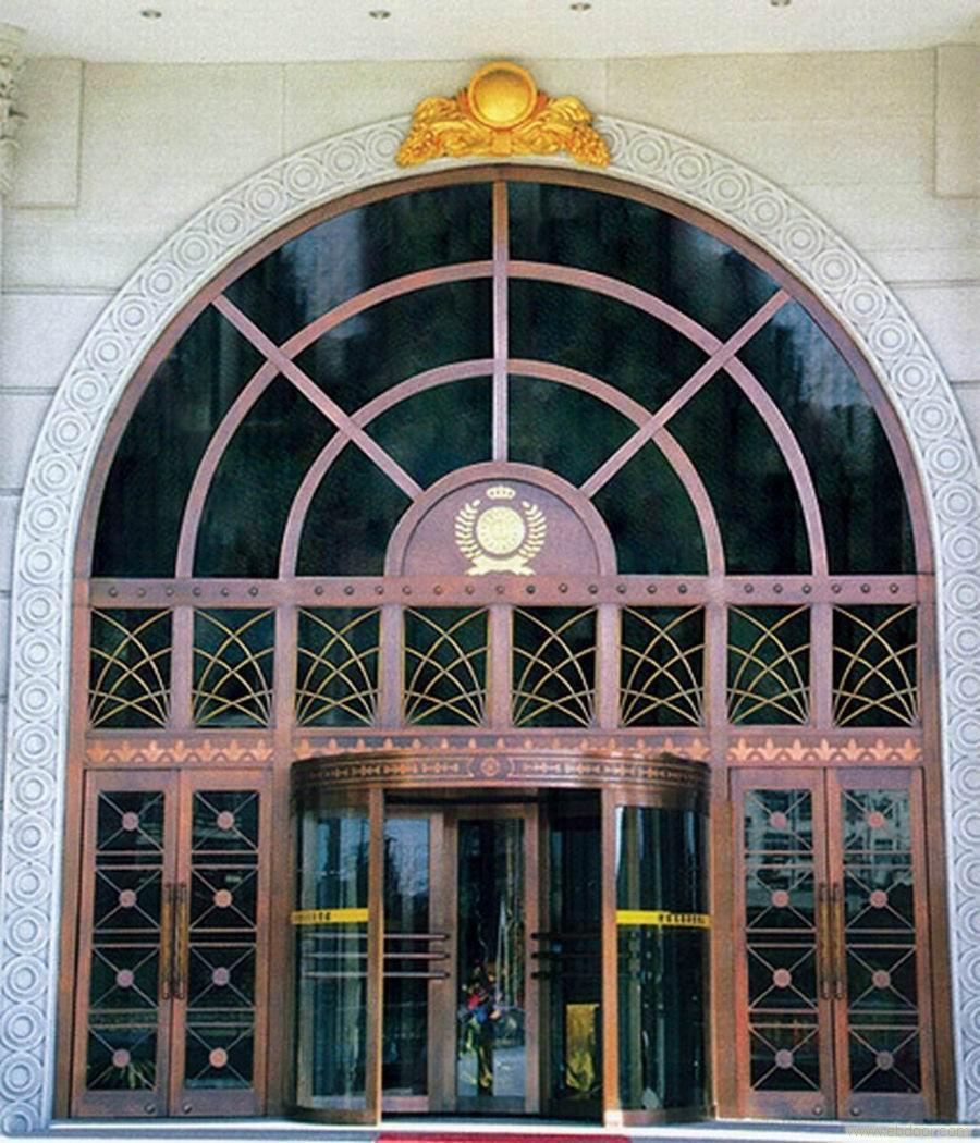 大连旋转门大连水晶旋转门大连铜门旋转门