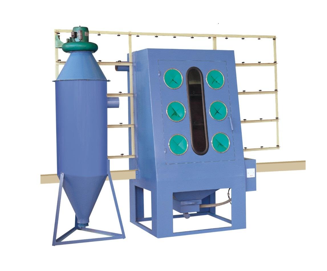 供应玻璃喷砂雕刻机自动喷砂机
